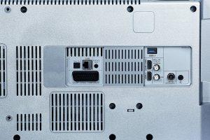 Grundig 48 VLX 8582 SP Anschlüsse