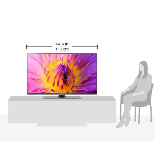 LG 50LF6529 Zeichnung Größenvergleich