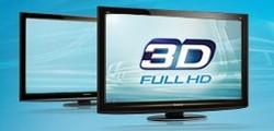 Bild: Panasonic 3D Fernseher (via panasonic.de)