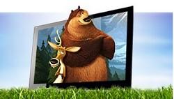 Bild: Sony 3D Fernseher (via sony.de)