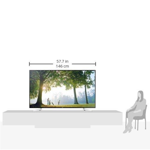 Samsung UE75H6470 Produktbild Produktmaße im Vergleich