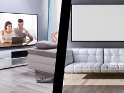3D-TVs vs. Leinwand – wo ein Kauf sich eher lohnt und warum